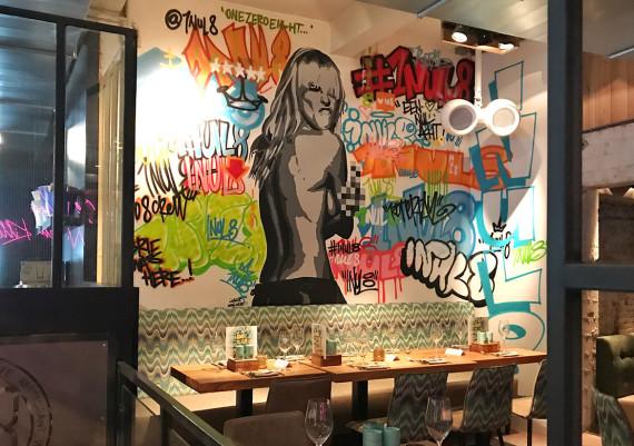 Graffiti at 1Nul8, Rotterdam
