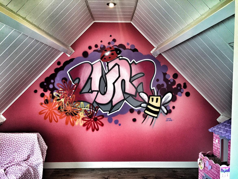Marcel Labrie » Murals/Graffiti