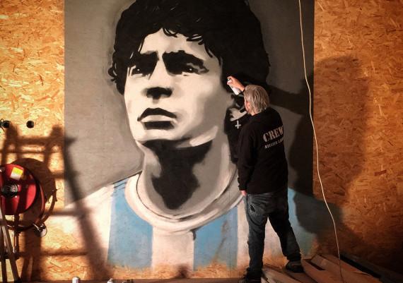 Maradona @KLUSC