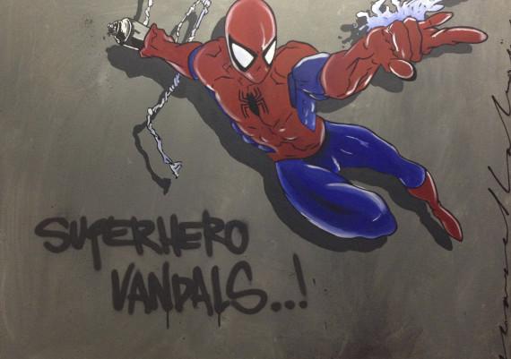 Superhero Vandals